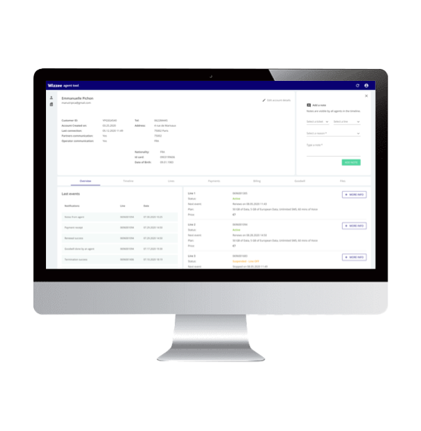 triPica's agent tool with Zendesk integration